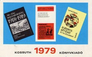 Kossuth Könyvkiadó - 1979
