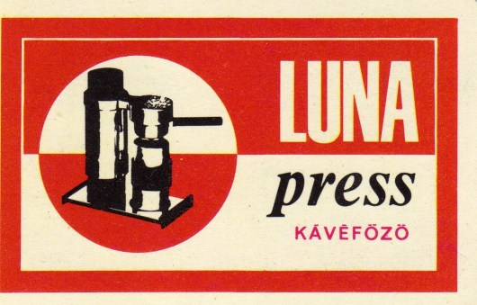 Luna-press kávéfőző - 1968