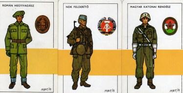 Magyar Néphadsereg - 20 éves Varsói Szerződés sorozat (1) - 1975