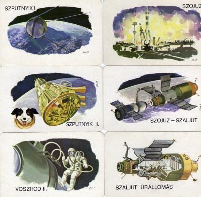Magyar Néphadsereg - űrhajózás sorozat (2) - 1979
