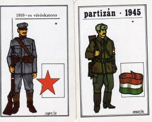 Magyar Néphadsereg - Szabadságharcosok sorozat (1) - 1975