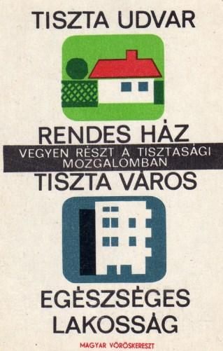 Magyar Vöröskereszt (Tisztasági mozgalom) - 1966
