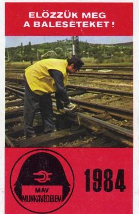 MÁV (Munkavédelem) - 1984
