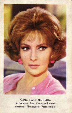 MOKÉP (Gina Lollobrigida) - 1971