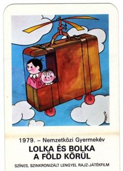 MOKÉP - Nemzetközi Gyermekév (Lolka és Bolka) - 1979