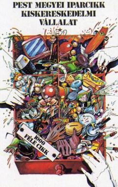 Pest Megyei Iparcikk Kereskedelmi Vállalat - 1982
