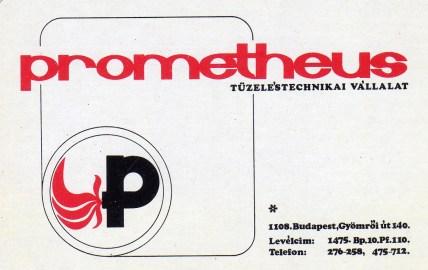 Prometheus Tüzeléstechnikai Vállalat - 1978