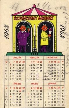 Szivárvány Áruház (a) - 1962