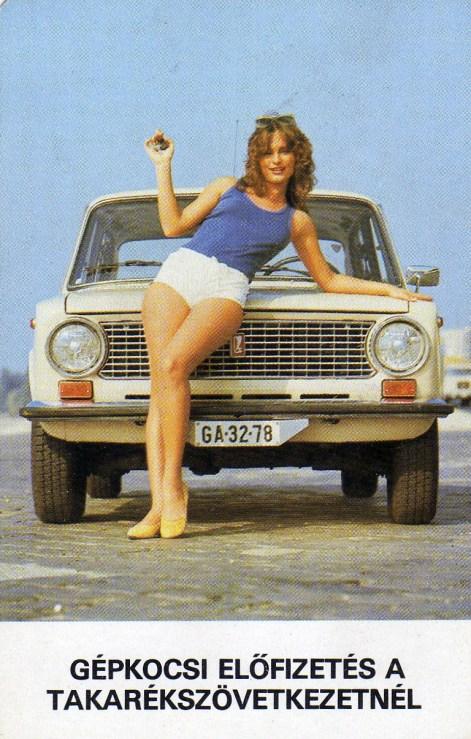 Takarékszövetkezet - gépkocsi előfizetés - 1985