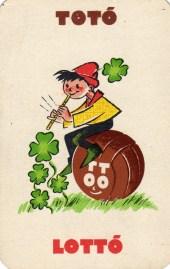 Totó-lottó - 1960