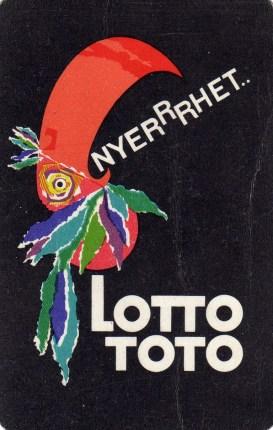 Totó-lottó - 1966