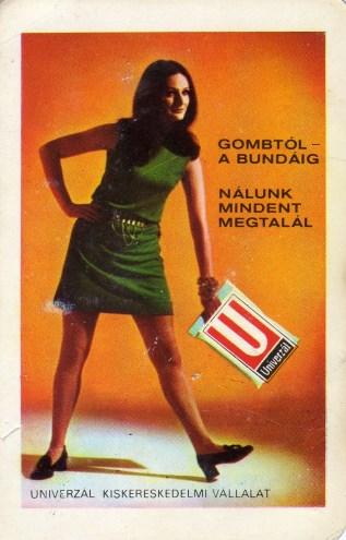 UNIVERZÁL KV (Békés megye) - 1972