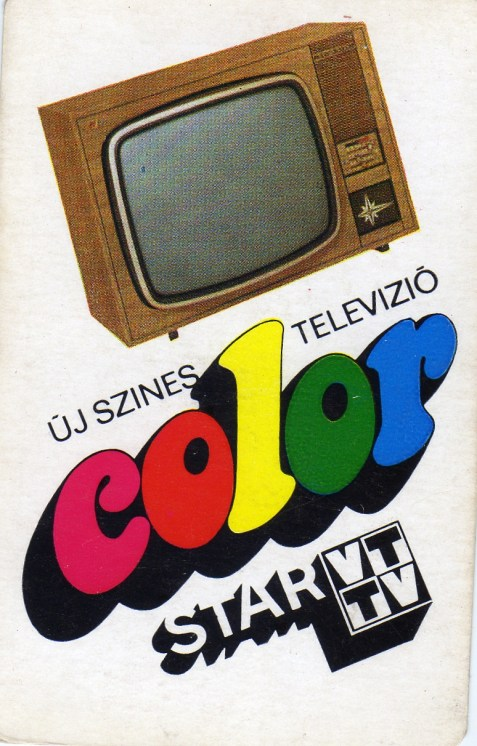 VIDEOTON (Color Star TV) - 1975