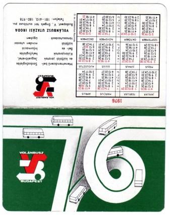 Volánbusz (a) - 1976