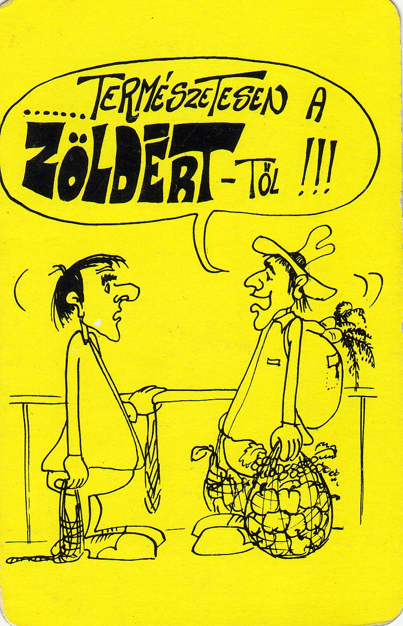 ZÖLDÉRT - 1981