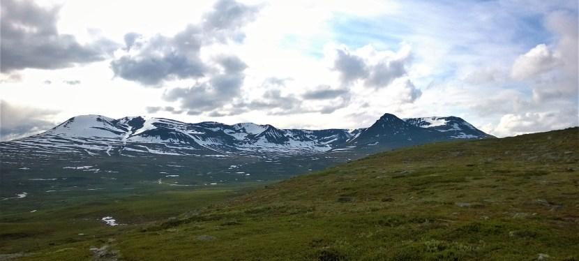 Polkujuoksuvaellus Kilpisjärveltä Tamokdaleniin, Norjaan (5-8.8.2019)