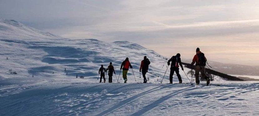 *22-24.3.2021 Tunturihiihtokurssi, Kilpisjärvi