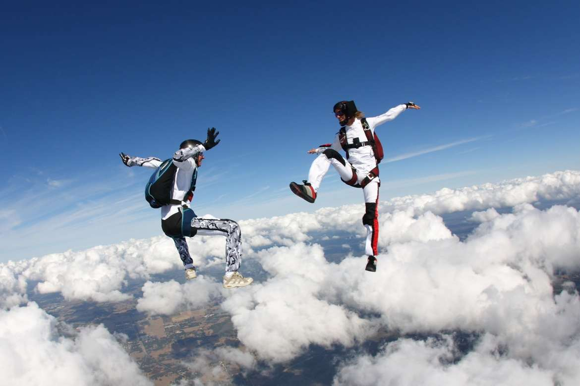 Skydiving Free Flying