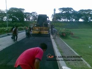 Pengaspalan Bandara Soekarno Hatta