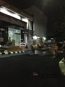 Pengaspalan Halaman Masjid Al Ikhlas Kota Tangerang, Jasa Aspal hotmix, Jakarta, Tangerang, Betonisasi, Pengecoran Jalan, Aspal Beton