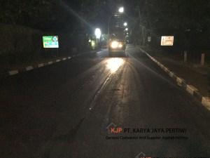 Pelapisan Aspal Hotmix Hotel Sultan Jakarta