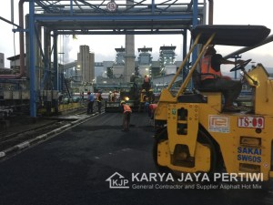 Pemgaspalan PT. Gajah Tunggal Divisi SBR Cilegon Banten