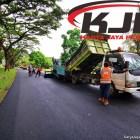 Pengaspalan Jalan Tanjung Lesung Cotage Pandeglang Banten