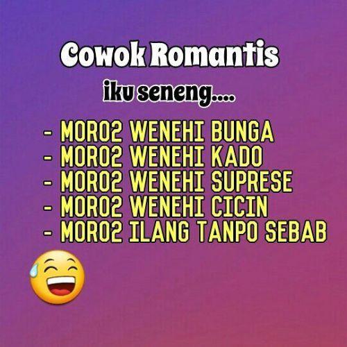 5800 Koleksi Gambar Kata Kata Lucu Bahasa Jawa Romantis HD Terbaik