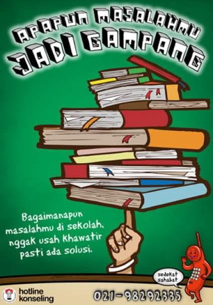 17+ Contoh Poster Pendidikan Menarik, Penjelasan & Gambar ...