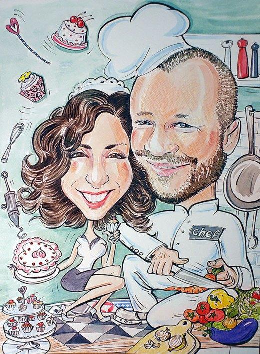 kuchnia-kucharz-cukierniczka-karykaturaportret.eu