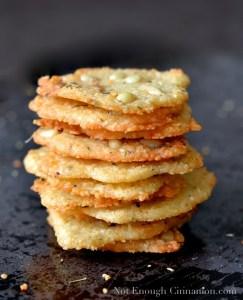 Parmesan, Oregano & Pine Nut Melts by Not Enough Cinnamon