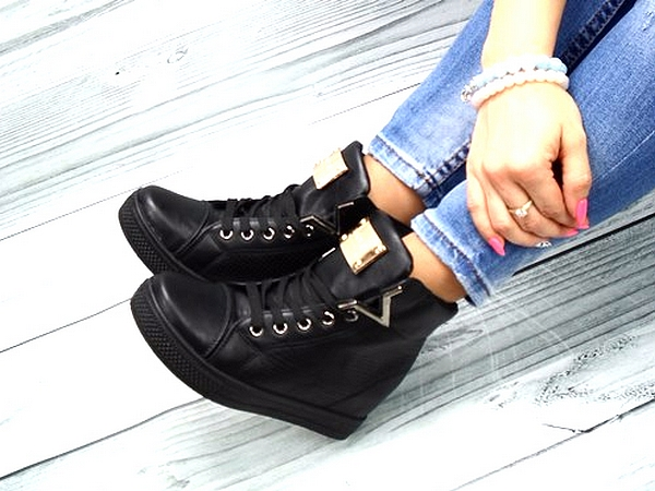 Sneakersy black
