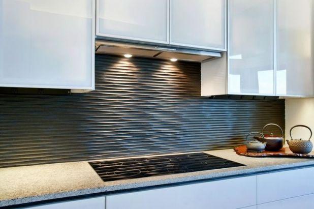 pomysły na aranżację ściany w kuchni