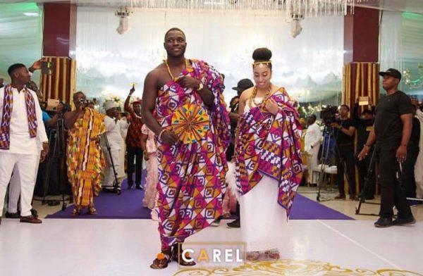 Ghanaian Wedding Ceremony