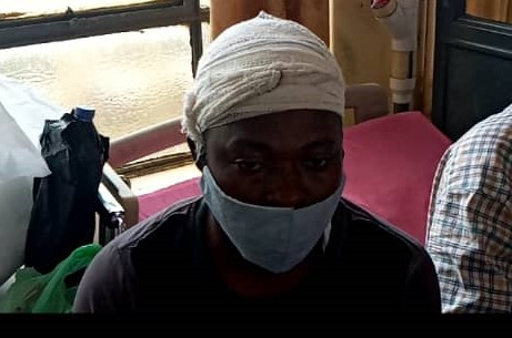 A/R: Angry youth chop off man's hand at Aboabo 1