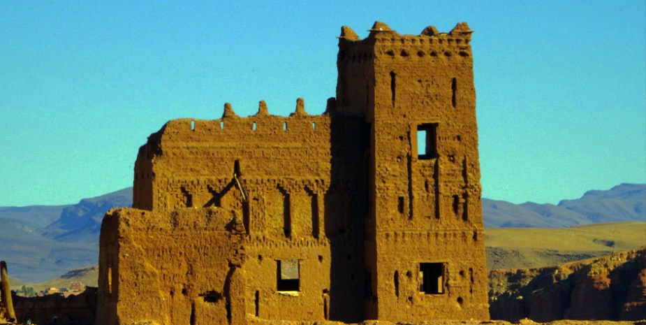 SUITE Nº7 - vue chambre - KASBAH TITRIT