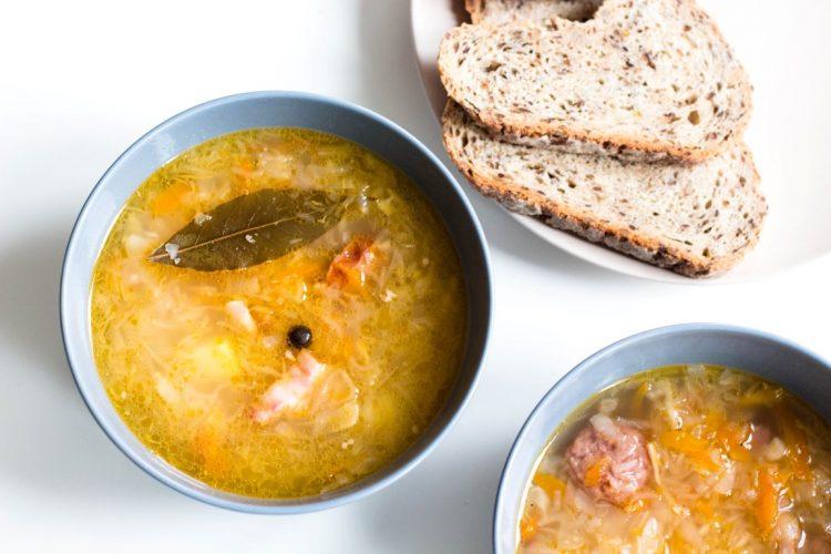 Sauerkrautsuppe-polnische-Rezepte-07