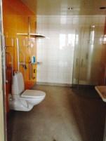 Toalett för varje rum - färdig monterade.