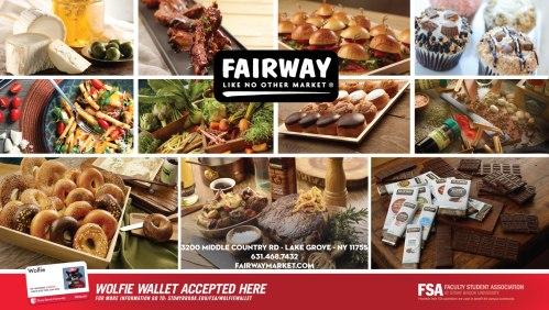 Fairway Grocer Wolfie Wallet Ad