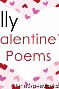 Valentine Poems For Kids 3