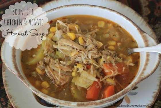 Bountiful Chicken Harvest Soup3
