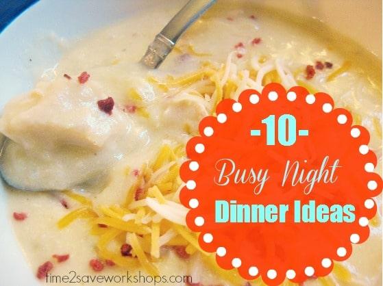 busy-night-dinner-ideas