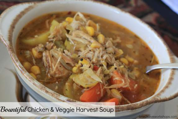 Low Carb Meal Ideas: Bountiful Harvest Chicken Soup