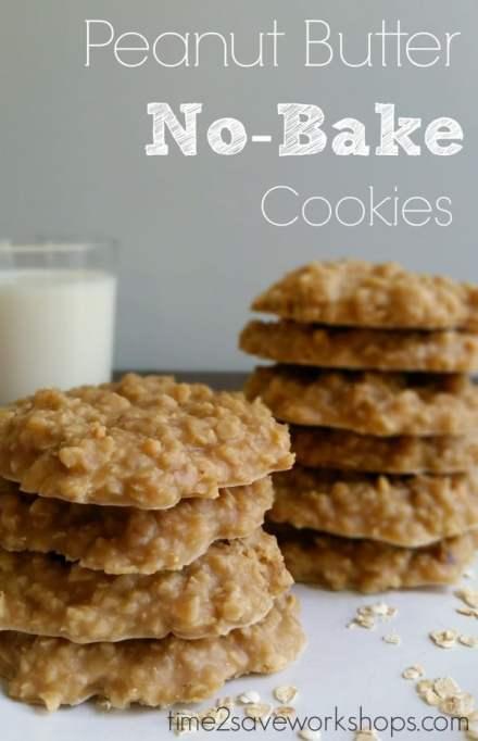 Homemade Peanut Butter Cookies - No Bake Peanut Butter Cookies | Homemade Recipes http://homemaderecipes.com/course/breakfast-brunch/20-homemade-peanut-butter-cookies-recipes