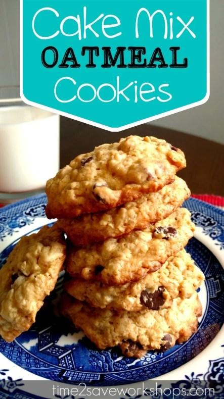 cake-mix-oatmeal-cookies