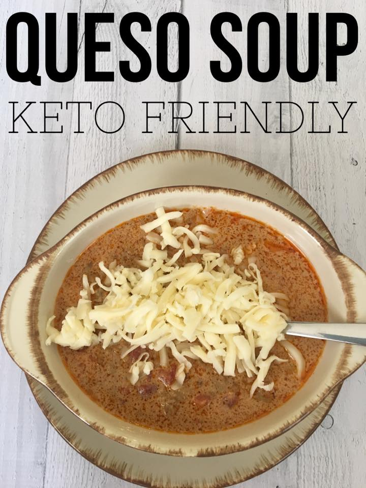 Keto Queso Easy Taco Soup is a perfect fast and delicious recipe for your family tonight. This tastes just like your favorite queso dip in soup form! A perfect keto soup recipe that kids and adults alike will enjoy!