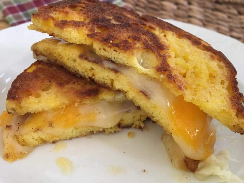 90 second grilled cheese2