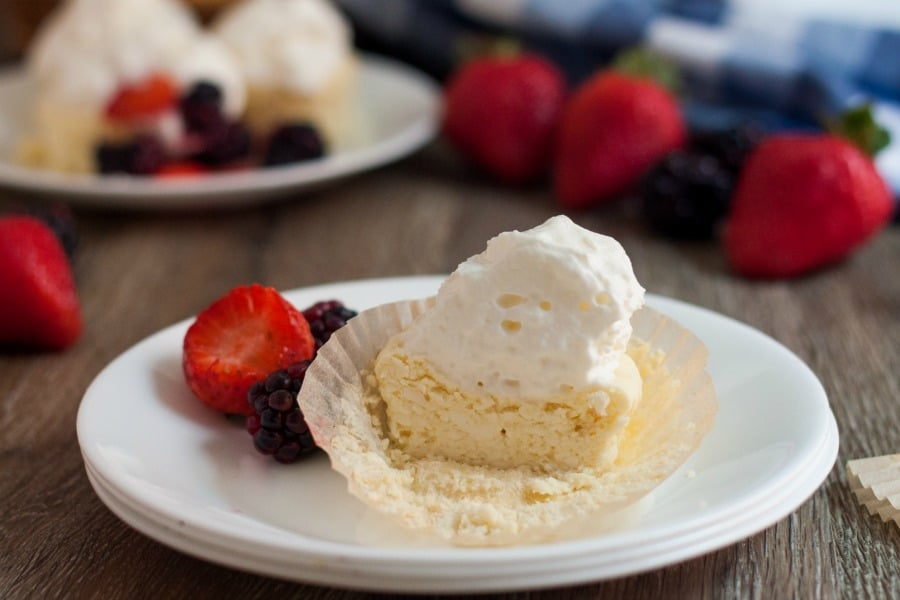Mini Low Carb Cheesecakes Recipe is a favorite way to portion control a delicious dessert and they are amazingly delicious!