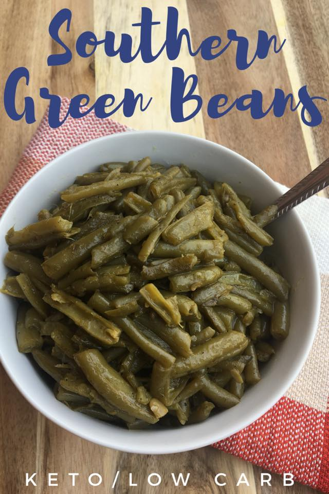 Southern Green Beans Verticle Image