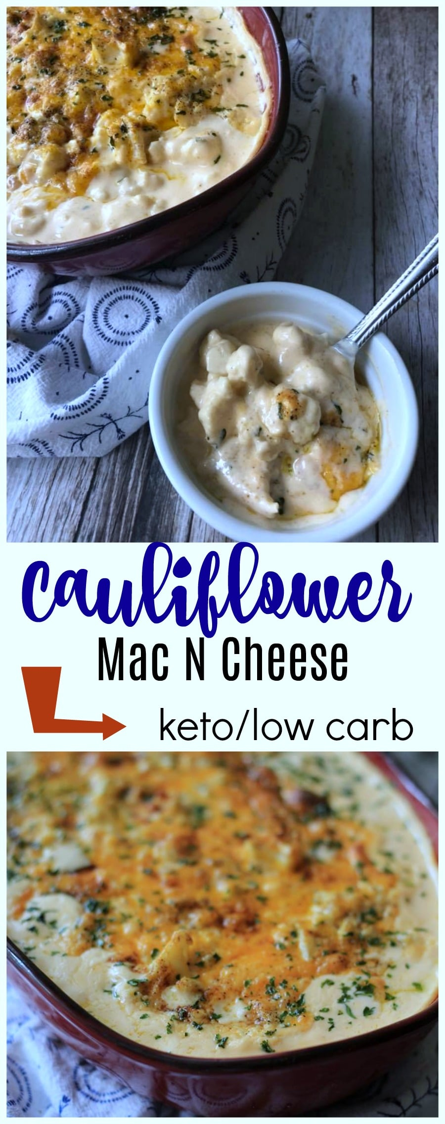 This Keto Cauliflower Mac and Cheese Recipe is going to revitalize your meal plan. Your menu plan will be perfect with this delicious creamy side dish!